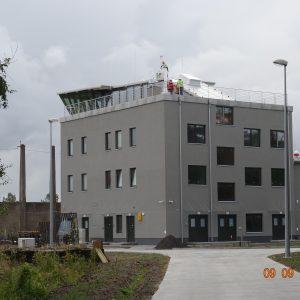 Wieża kontrolna Lotnisko Darłowo - Kontrukcje Aluminiowe