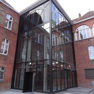 Szkoła Muzyczna Szczecinek - Kontrukcje Aluminiowe